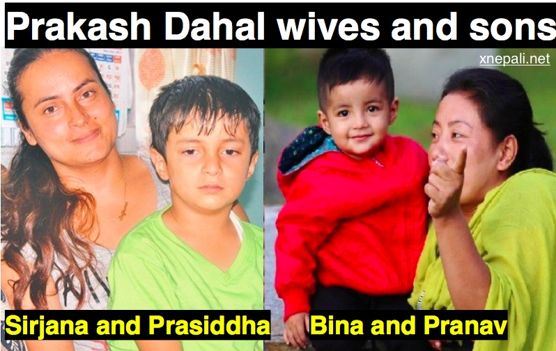 Prakash Dahal Biography, wives and sons